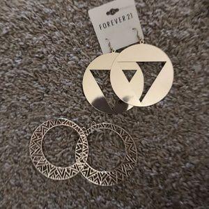 Earrings - 2 for $7